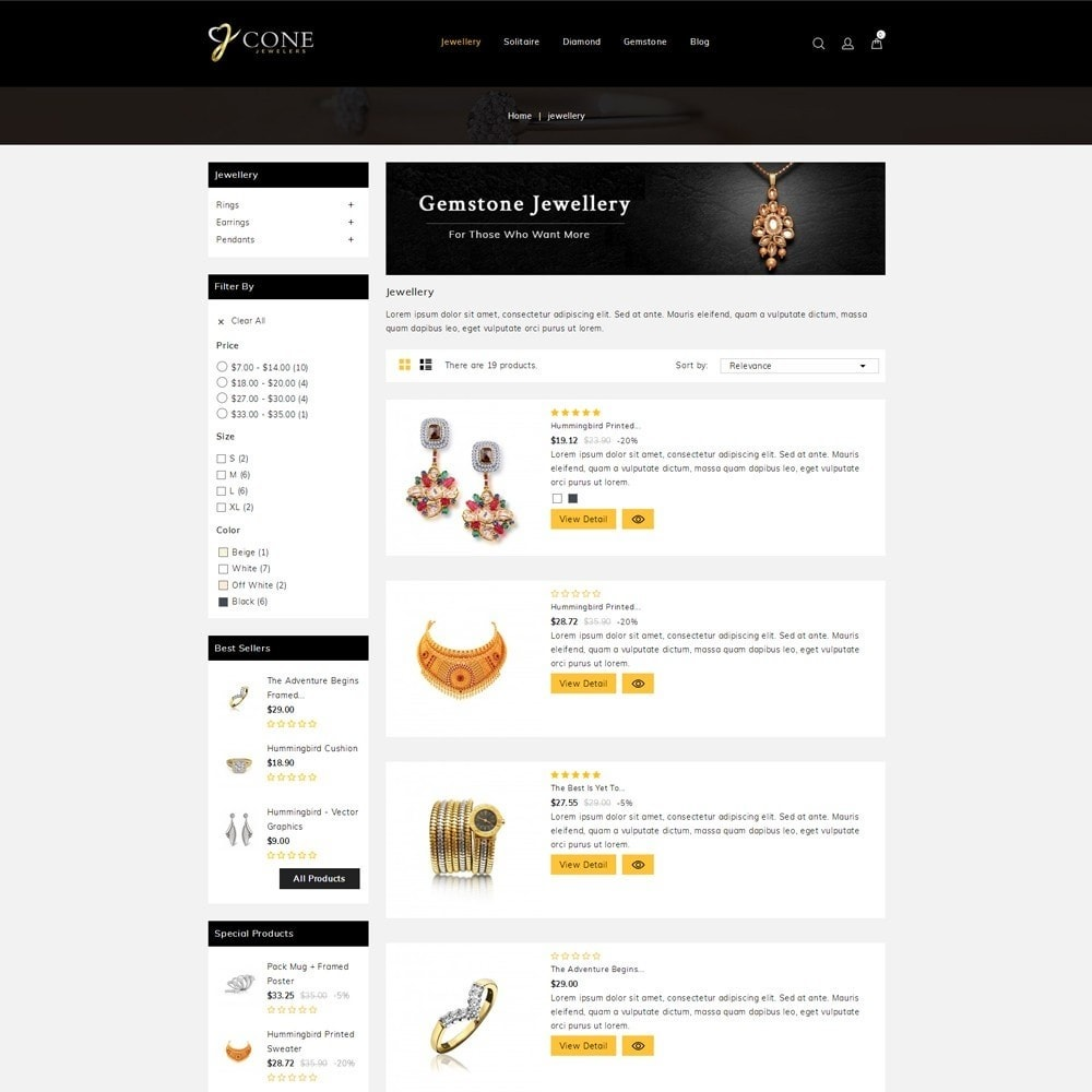 theme - Jewelry & Accessories - Cone Jewelers Store - 4