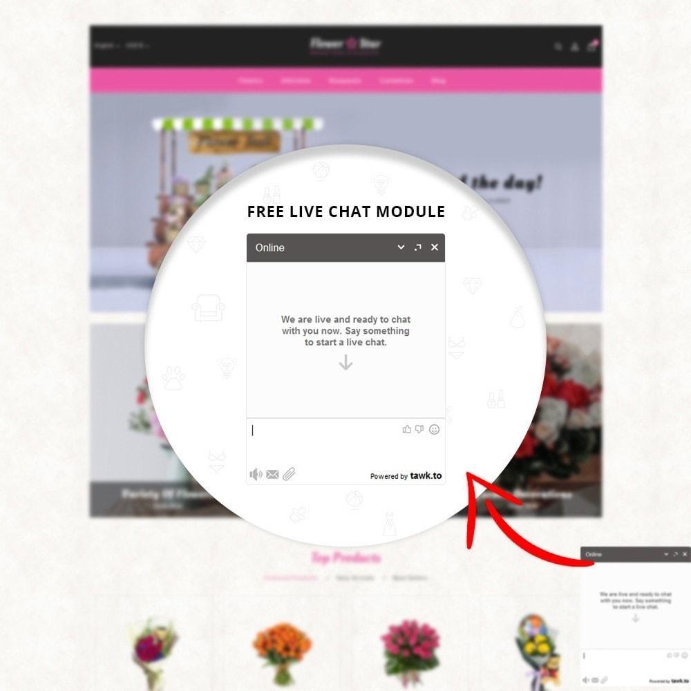 theme - Presentes, Flores & Comemorações - Flowerstar Store - 11