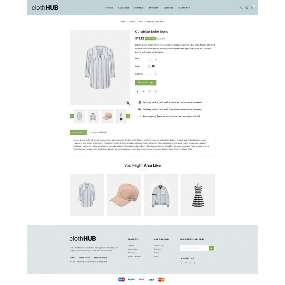theme - Mode & Chaussures - Cloth HUB - 4