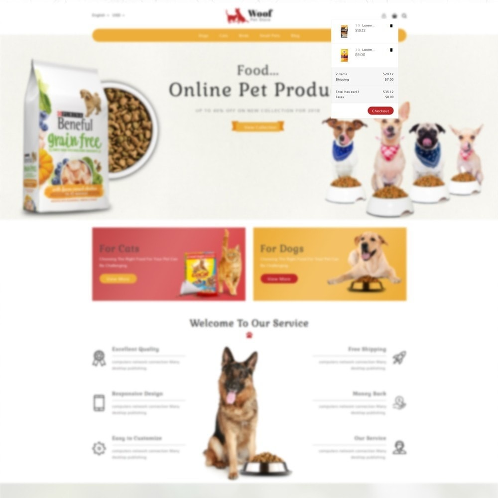 theme - Animais - Pet Store - 7