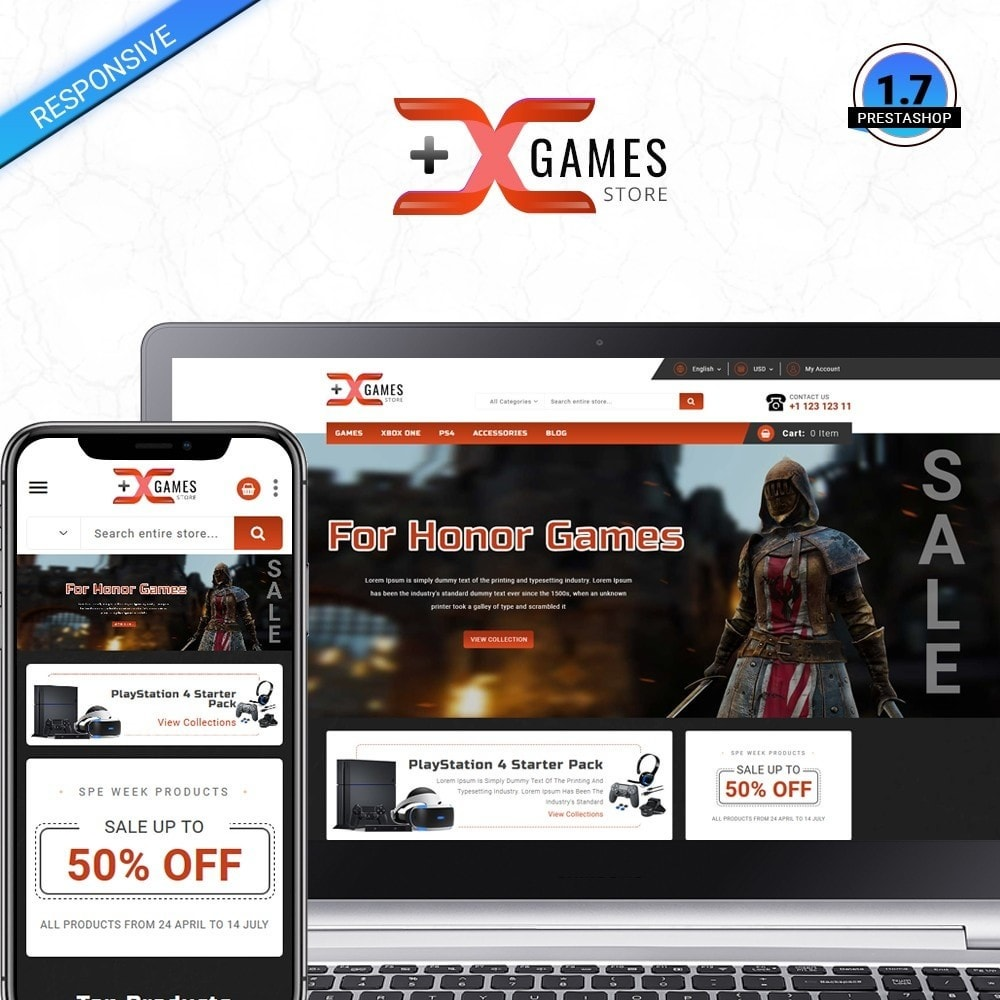theme - Sport, Loisirs & Voyage - Game Store - 1
