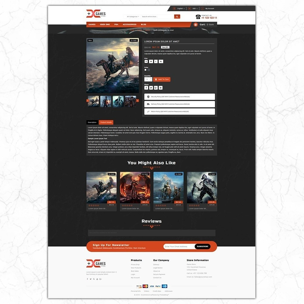 theme - Sport, Loisirs & Voyage - Game Store - 5