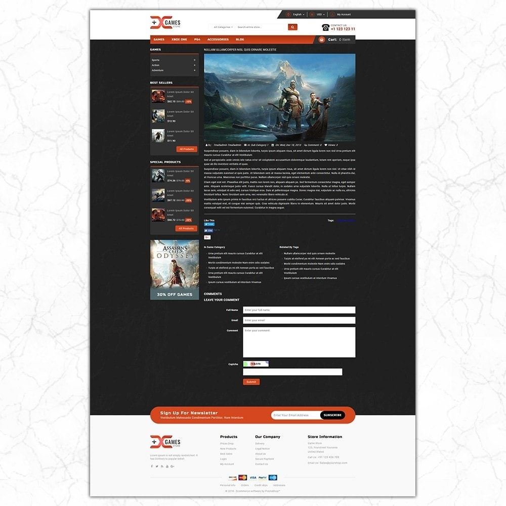 theme - Sport, Loisirs & Voyage - Game Store - 8