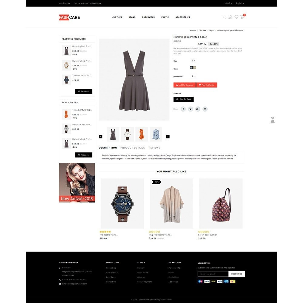 theme - Mode & Chaussures - Fashcare Fashion Store - 5