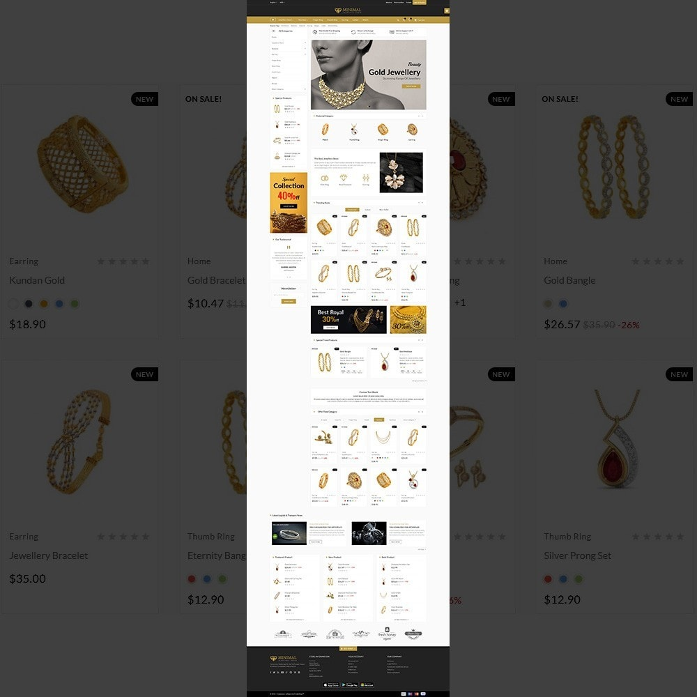 theme - Jewelry & Accessories - The Diamond –Jewelry Mega Shop - 2