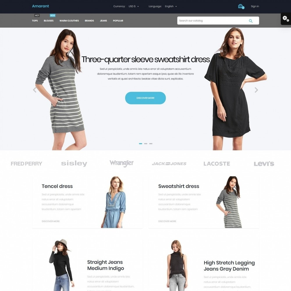 theme - Fashion & Shoes - Amarant Fashion Store - 2