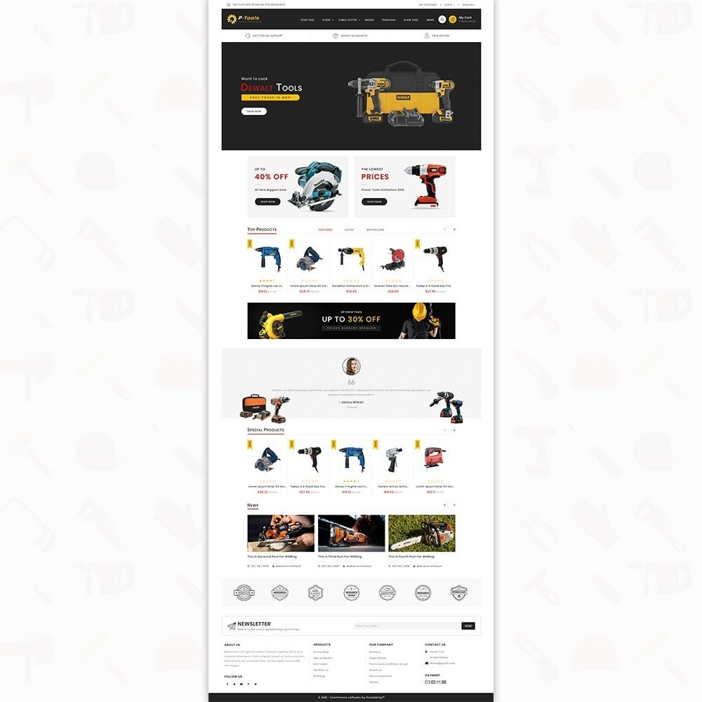 theme - Automotive & Cars - P - Tools - Special Power Tools - 2