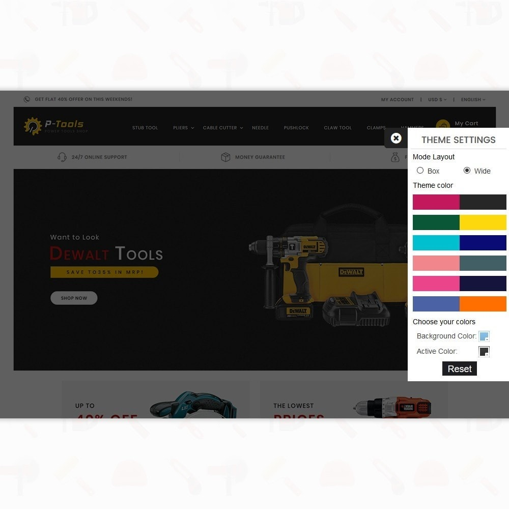 theme - Automotive & Cars - P - Tools - Special Power Tools - 8