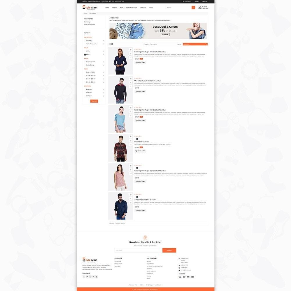 theme - Fashion & Shoes - Fashion Mart - The Fashion Shop - 4
