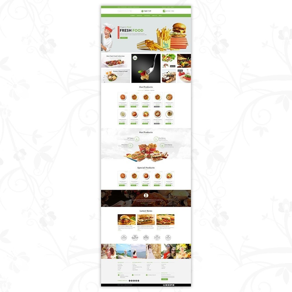 theme - Alimentation & Restauration - Vegan Food Store - 2