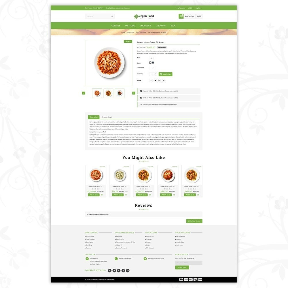 theme - Alimentation & Restauration - Vegan Food Store - 5