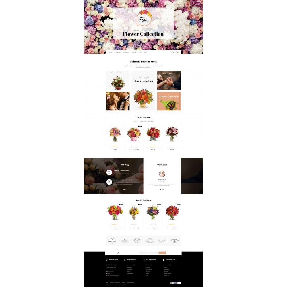 theme - Presentes, Flores & Comemorações - Flow - Flowers Store - 2