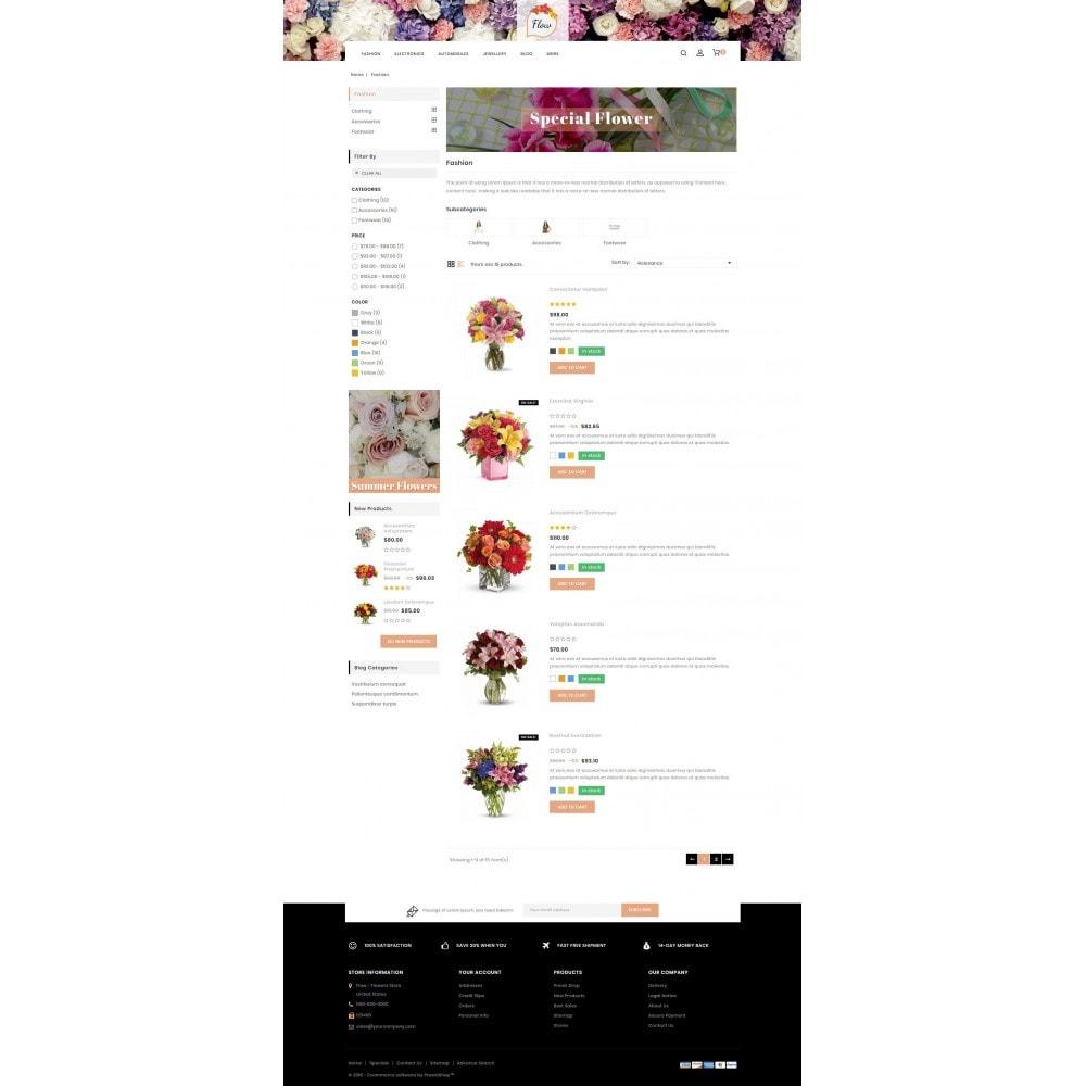 theme - Cadeaux, Fleurs et Fêtes - Flow - Flowers Store - 4