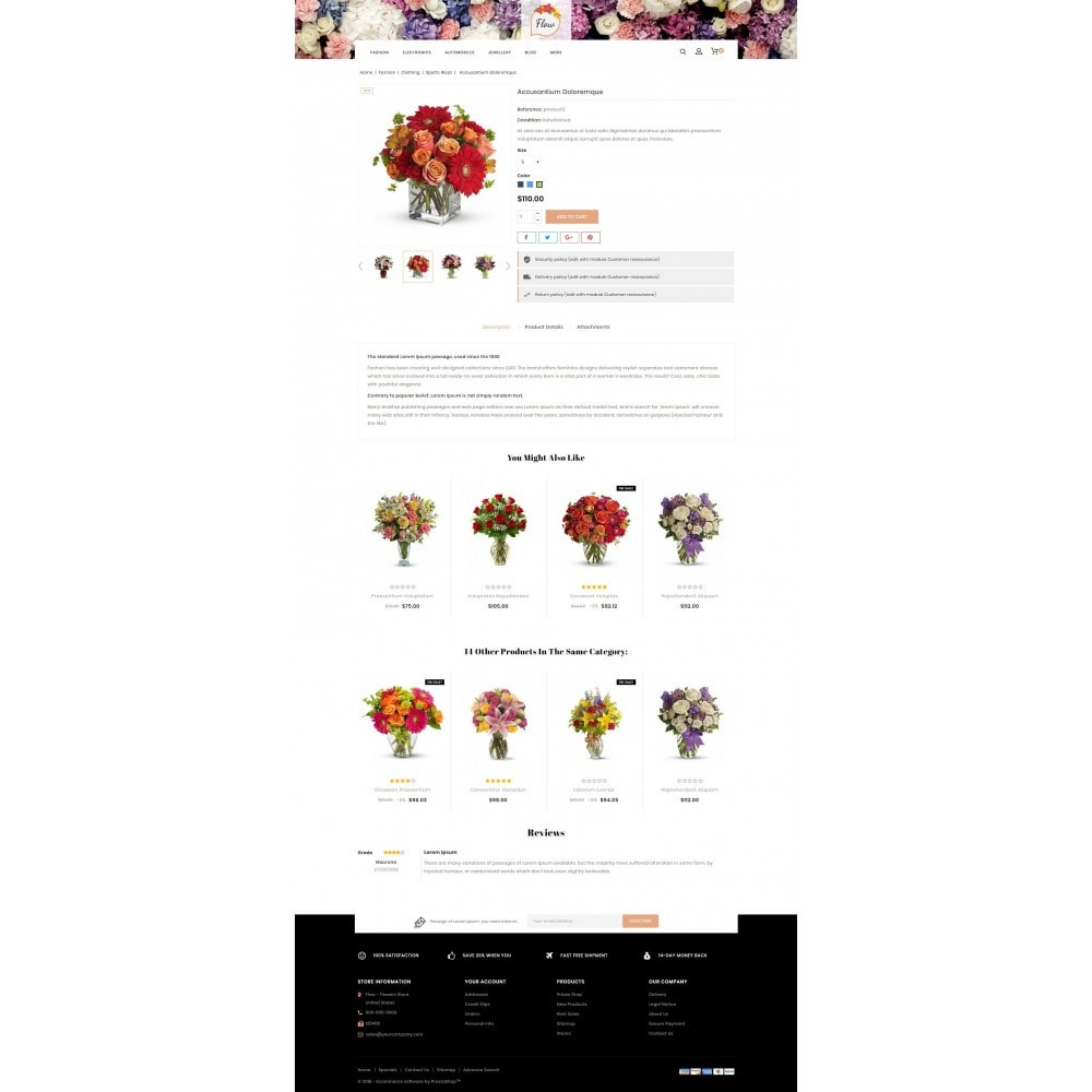 theme - Gifts, Flowers & Celebrations - Flow - Flowers Store - 5