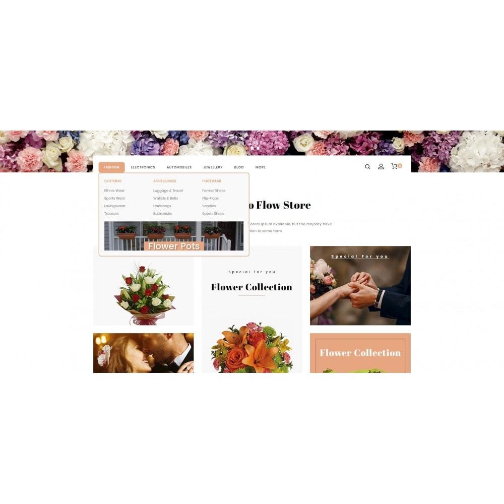 theme - Presentes, Flores & Comemorações - Flow - Flowers Store - 6