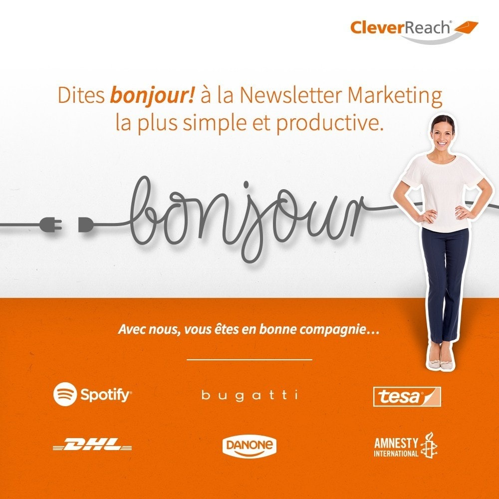 module - Newsletter & SMS - CleverReach® - E-Mail Newsletter - 1