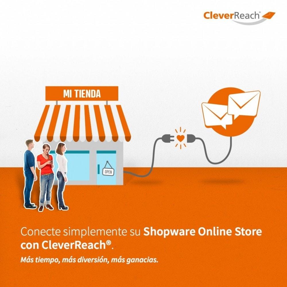 module - Newsletter y SMS - CleverReach® - publicidad por correo - 2
