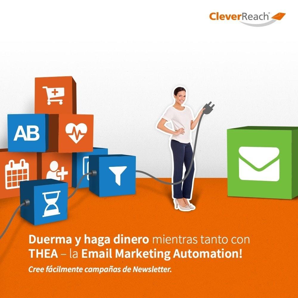 module - Newsletter y SMS - CleverReach® - publicidad por correo - 6