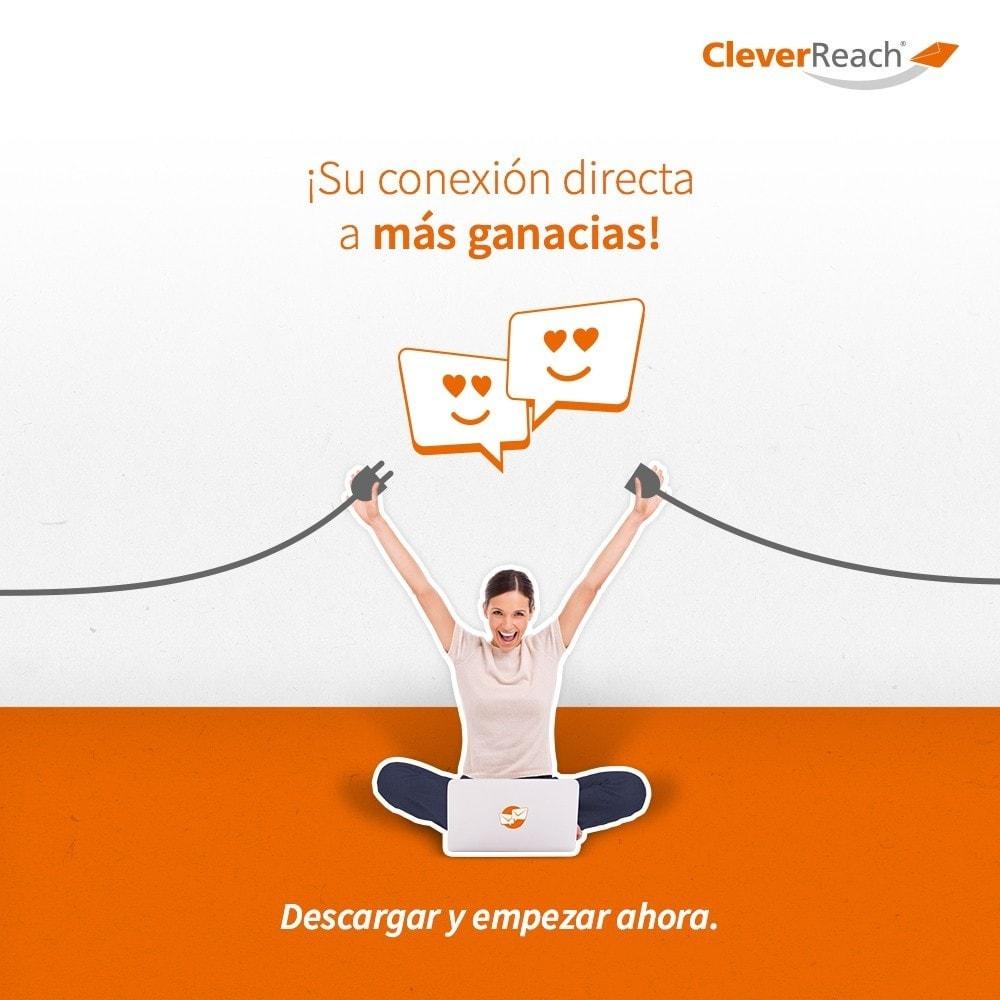 module - Newsletter y SMS - CleverReach® - publicidad por correo - 7