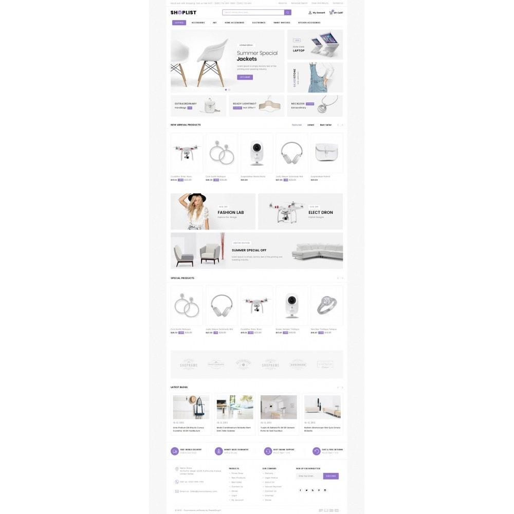 theme - Elektronik & High Tech - Shoplist - Mega Store - 2