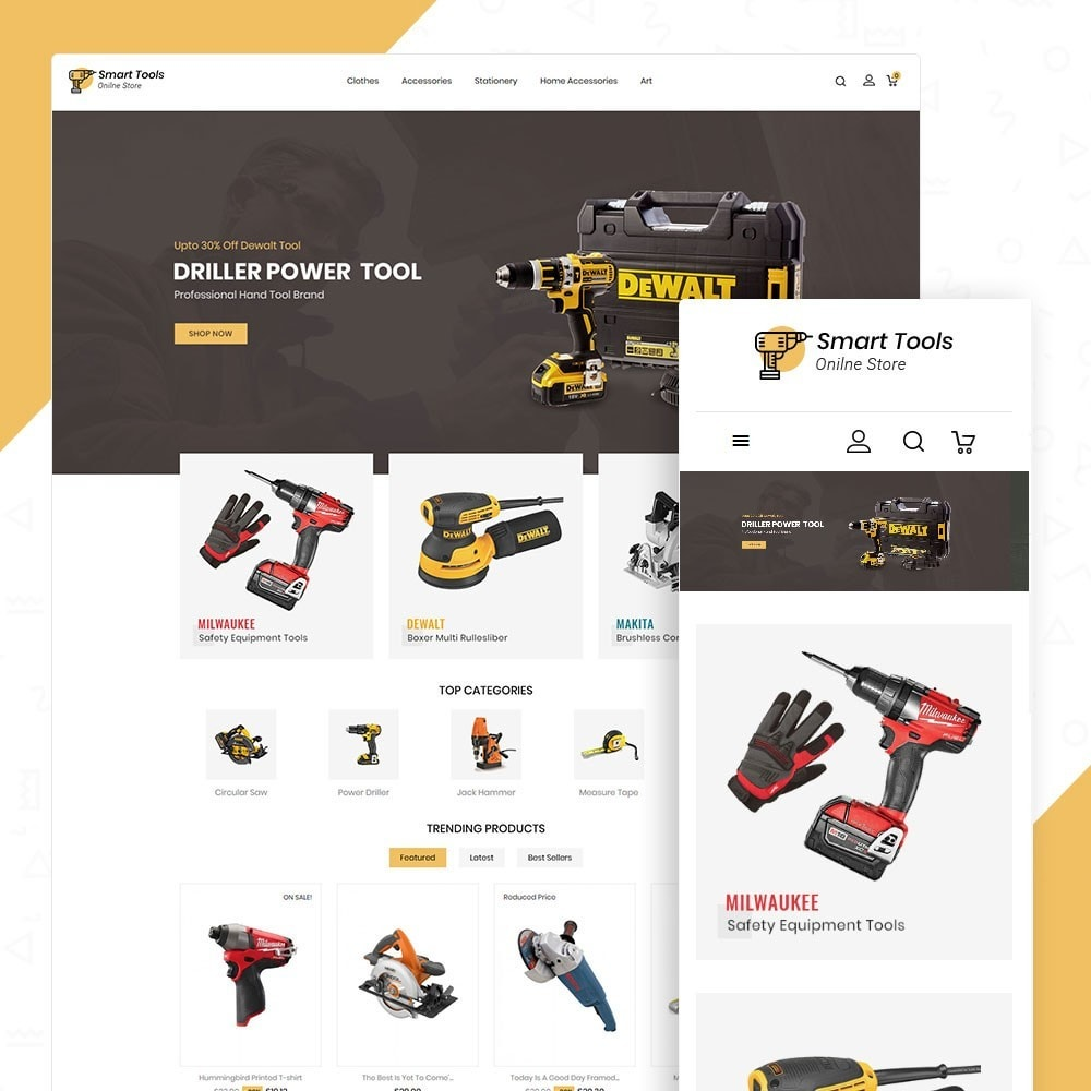 theme - Eletrônicos & High Tech - Smart Tools Store - 1