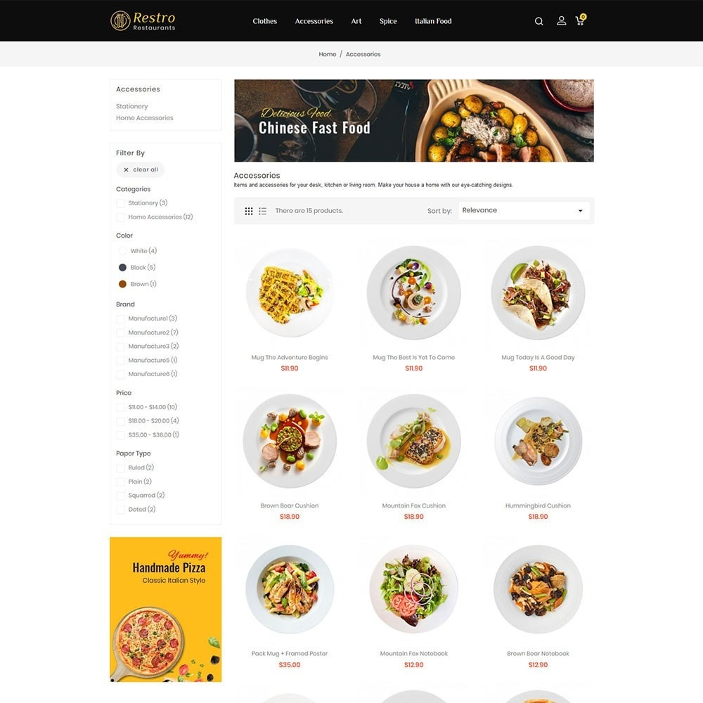theme - Food & Restaurant - Restro Restaurant - 3