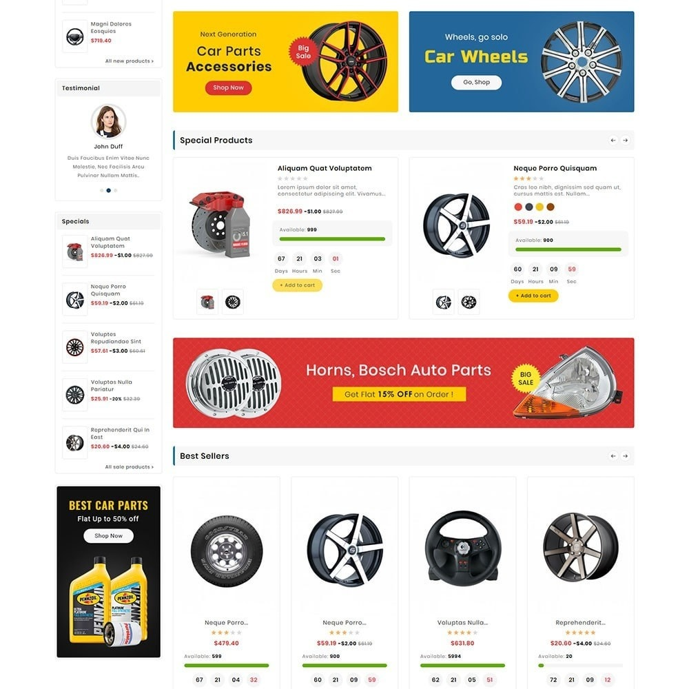 theme - Automotive & Cars - Digital Mart Auto Parts - 3