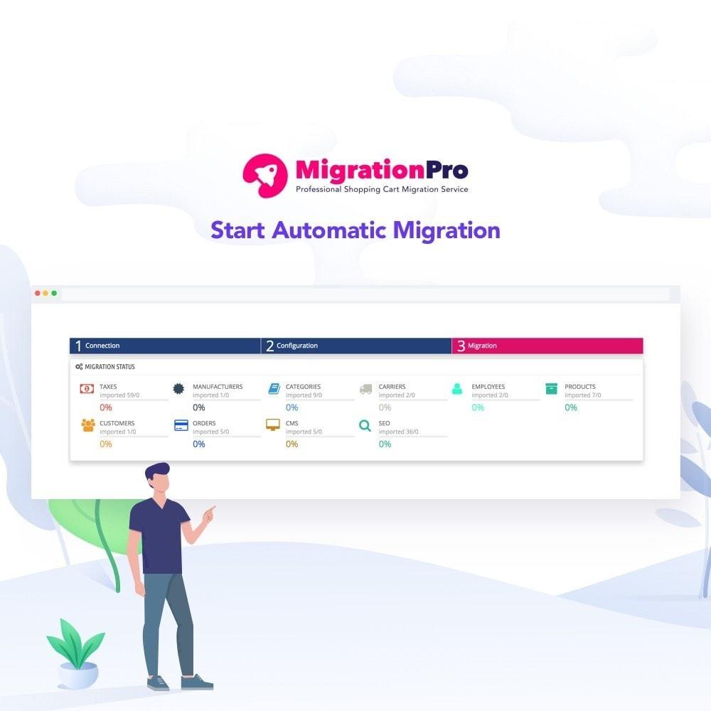 module - Migração de Dados & Registro - MigrationPro: Jigoshop to PrestaShop Migration tool - 5