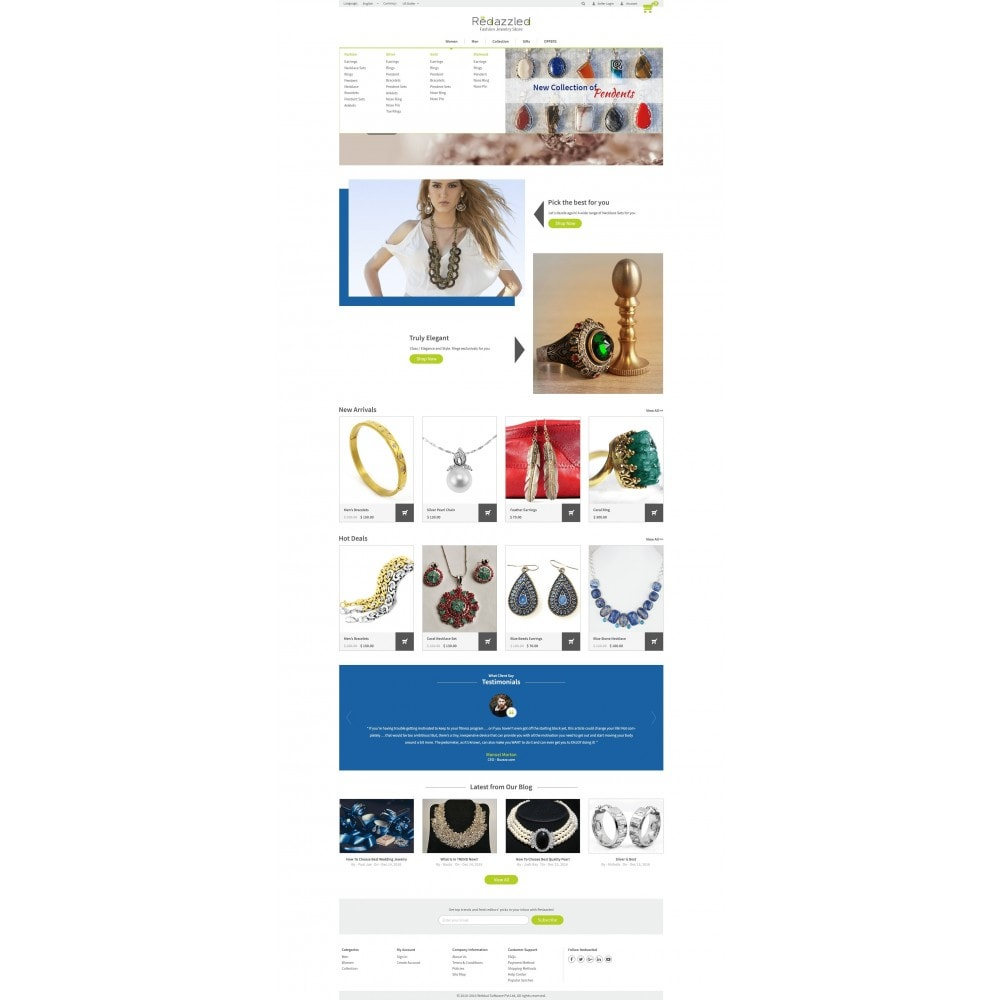 theme - Jewelry & Accessories - Redazzled Fashion Jewelry Store - 10