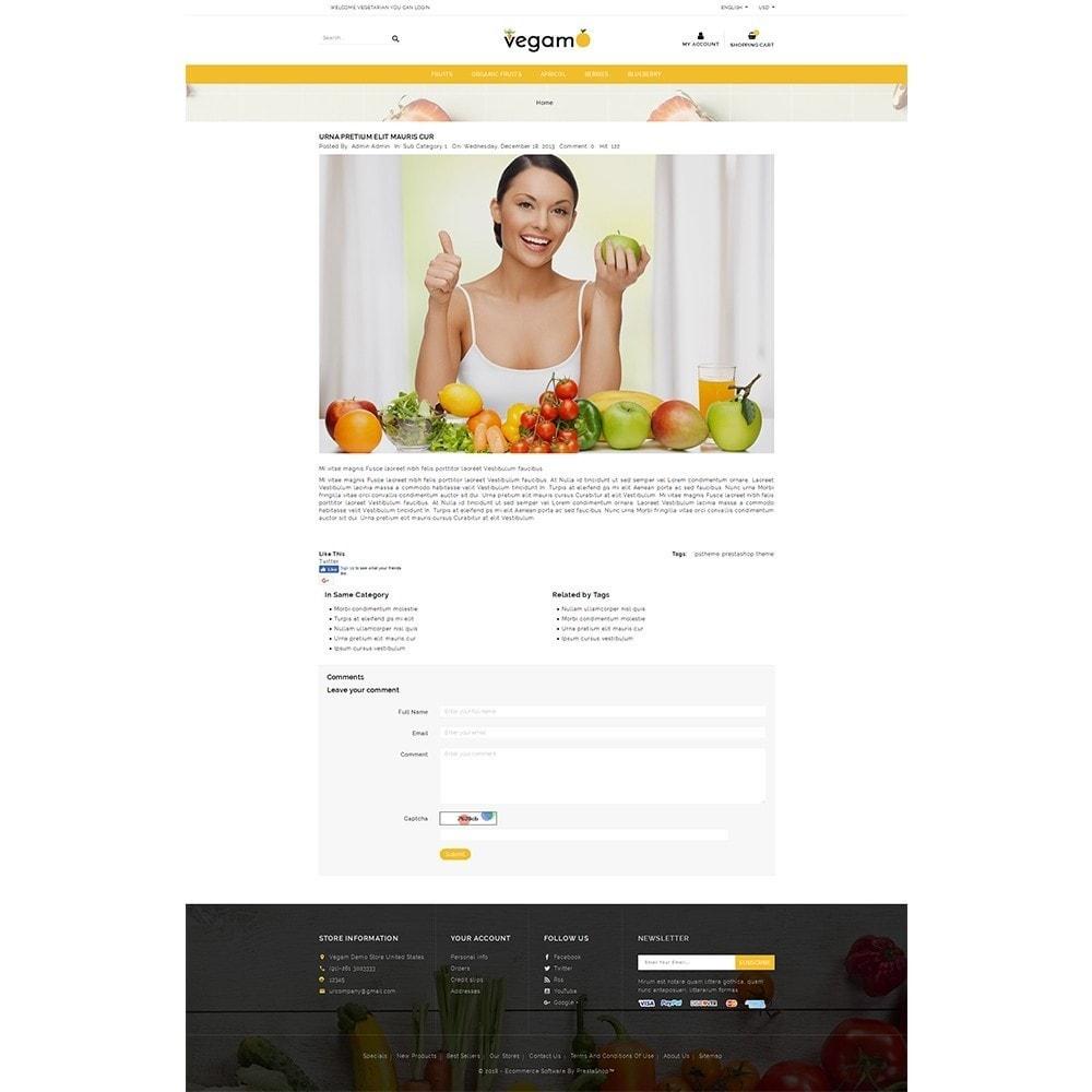 theme - Alimentation & Restauration - Vegam Store - 6