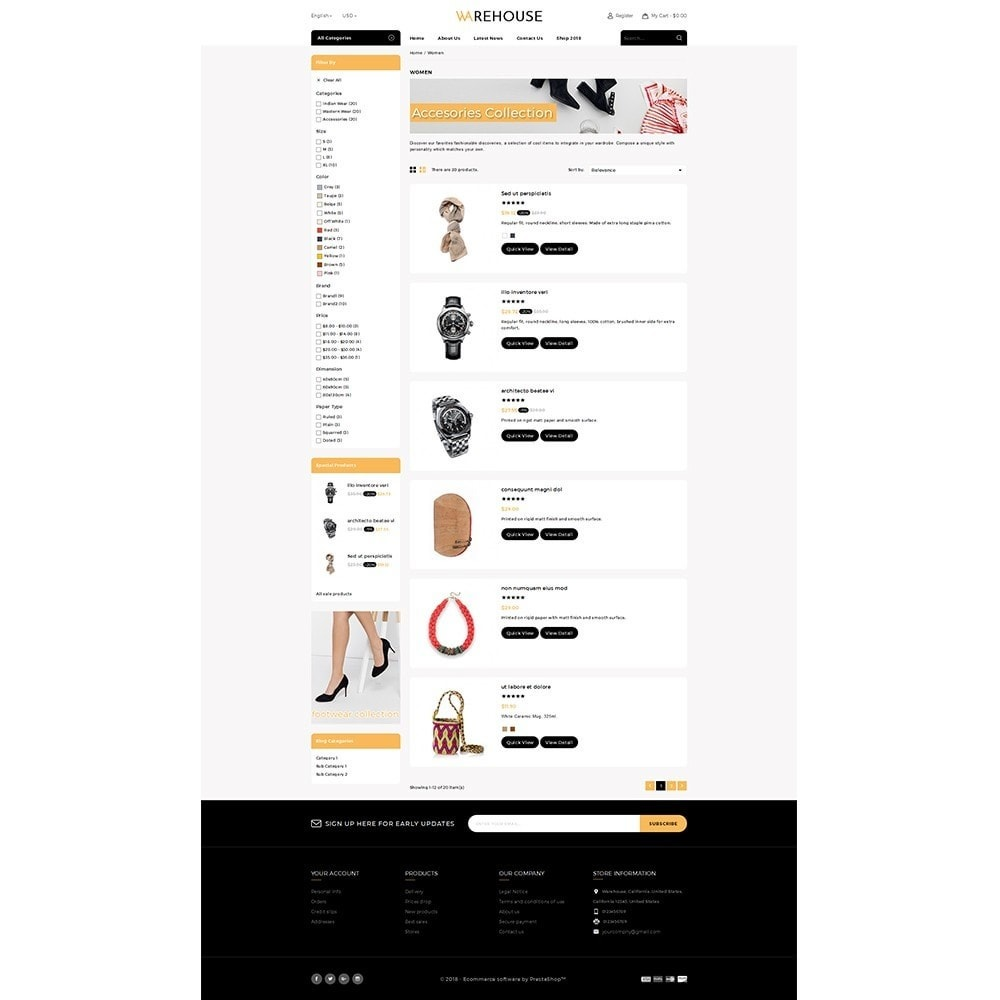 theme - Mode & Chaussures - Warehouse Store - 4