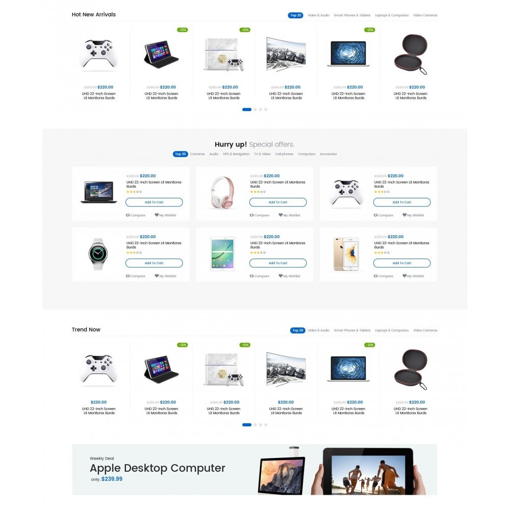 theme - Electronique & High Tech - AeonMarket Electronic Store - 3