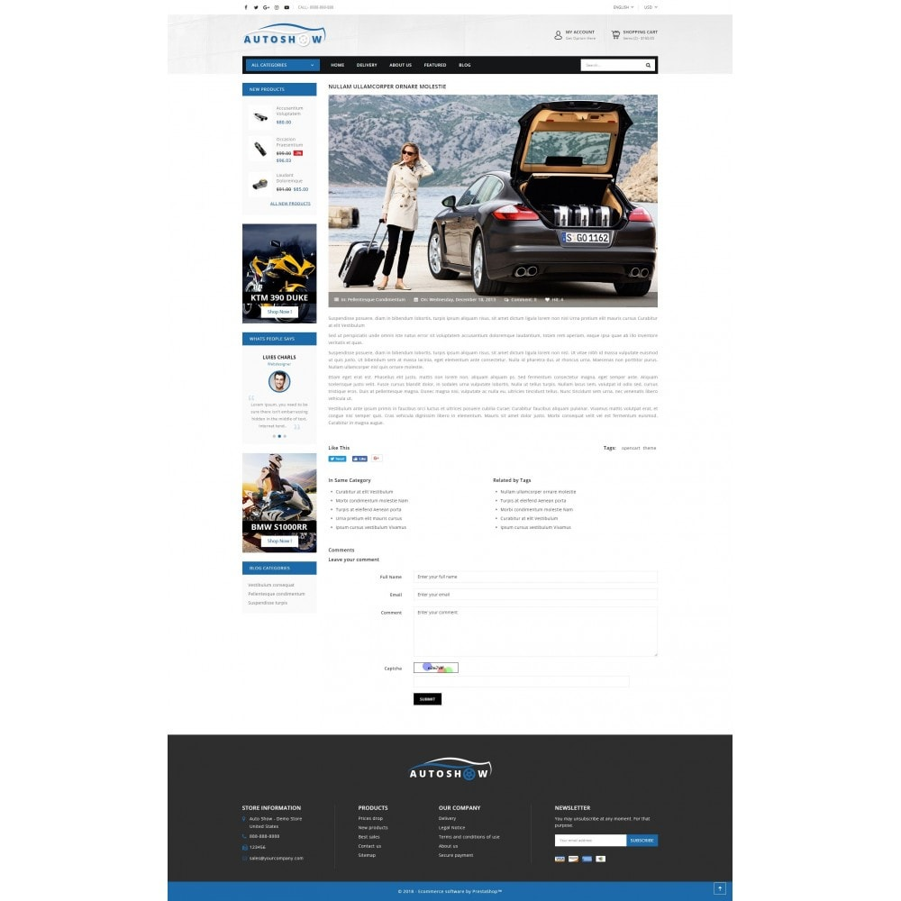 theme - Carros & Motos - Auto Parts Store - 9