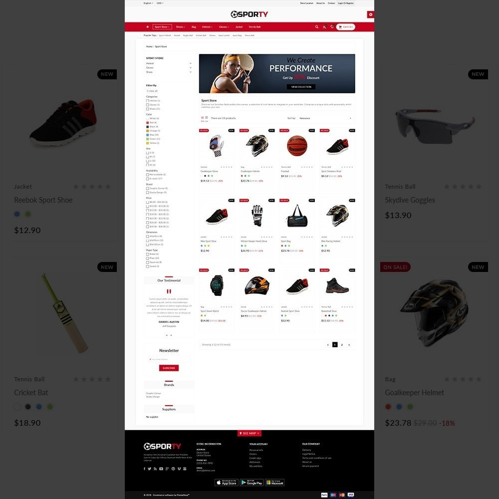 theme - Sport, Aktivitäten & Reise - Sporty Gym–Sport Multi Store - 3
