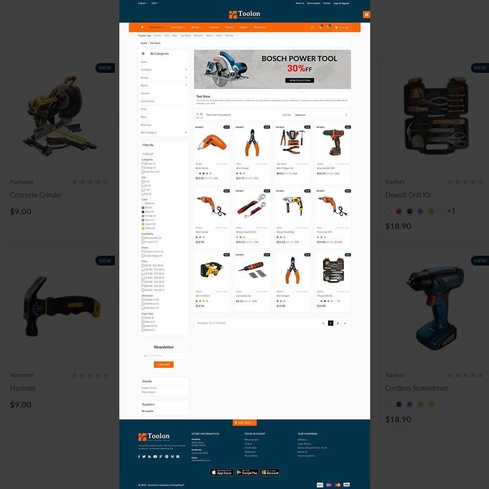 theme - Automotive & Cars - Toolon –Tools Mega Shop - 3