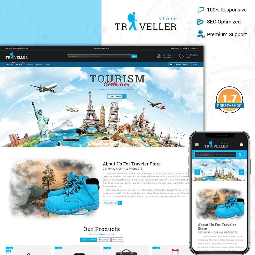 theme - Sport, Activiteiten & Reizen - Traveller - Travel Store - 1
