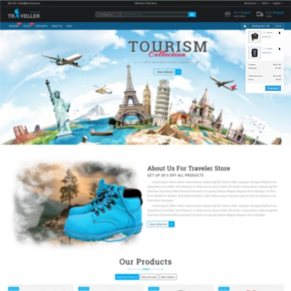 theme - Sport, Activiteiten & Reizen - Traveller - Travel Store - 6