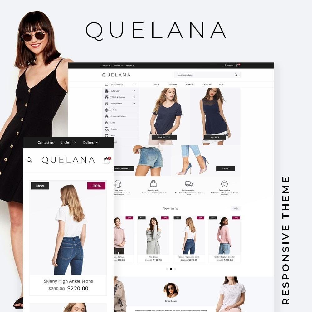 theme - Fashion & Shoes - Quelana Fashion Store - 1