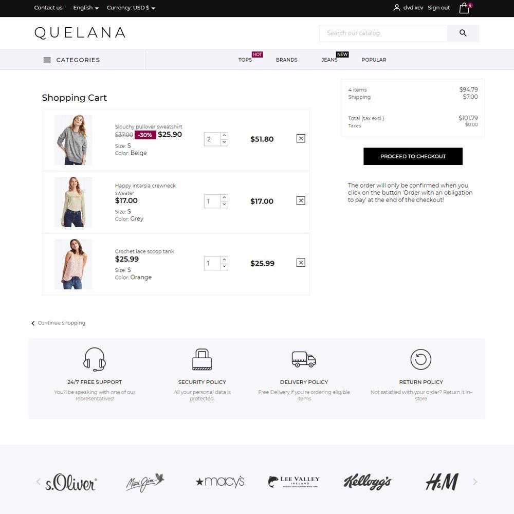 theme - Fashion & Shoes - Quelana Fashion Store - 7