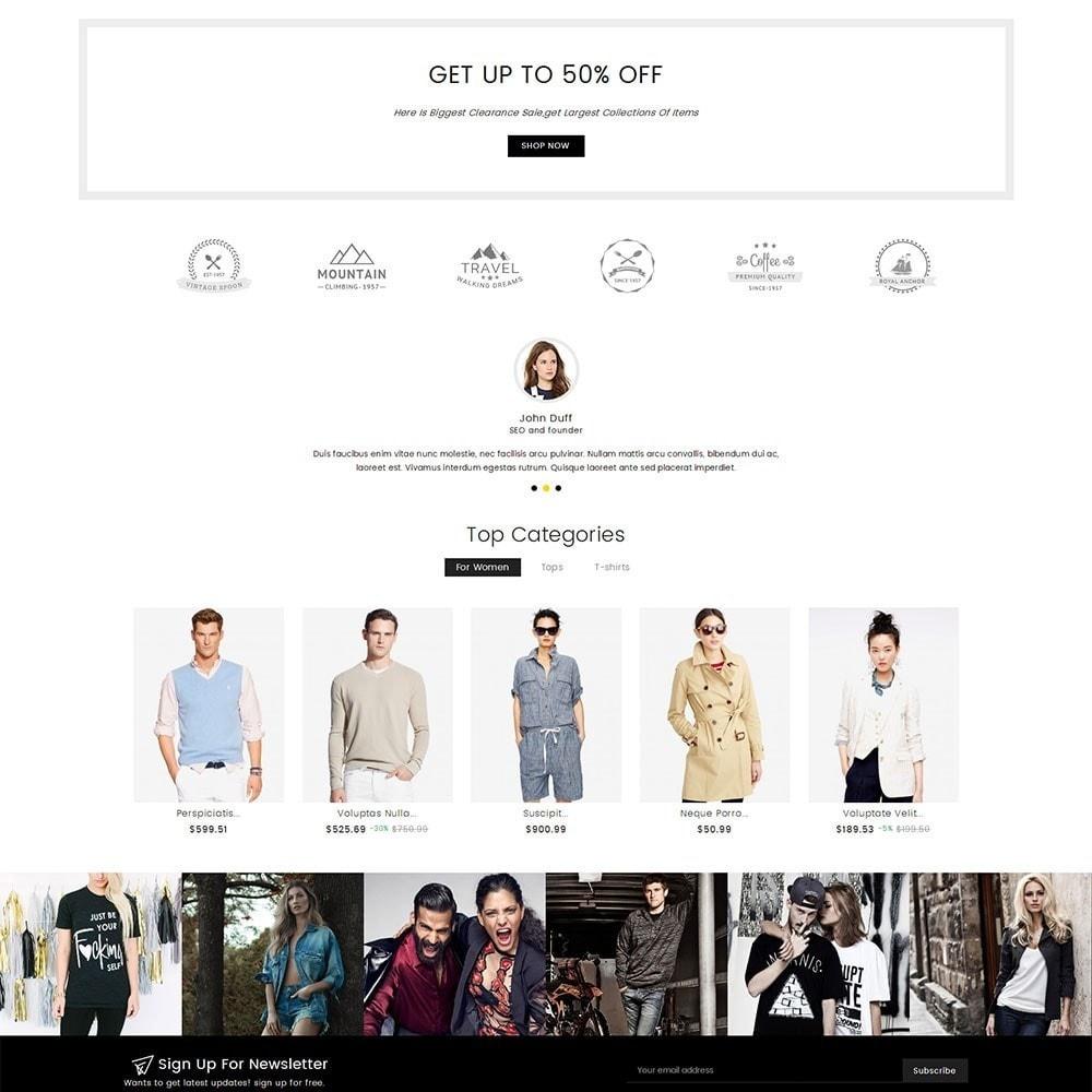 theme - Moda & Calçados - Fashion Clothes - 3