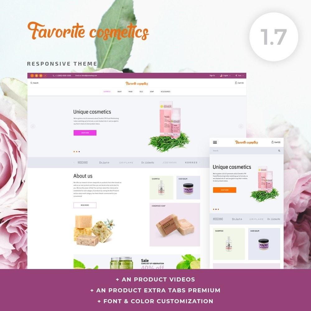 theme - Health & Beauty - Favorite cosmetics - 1
