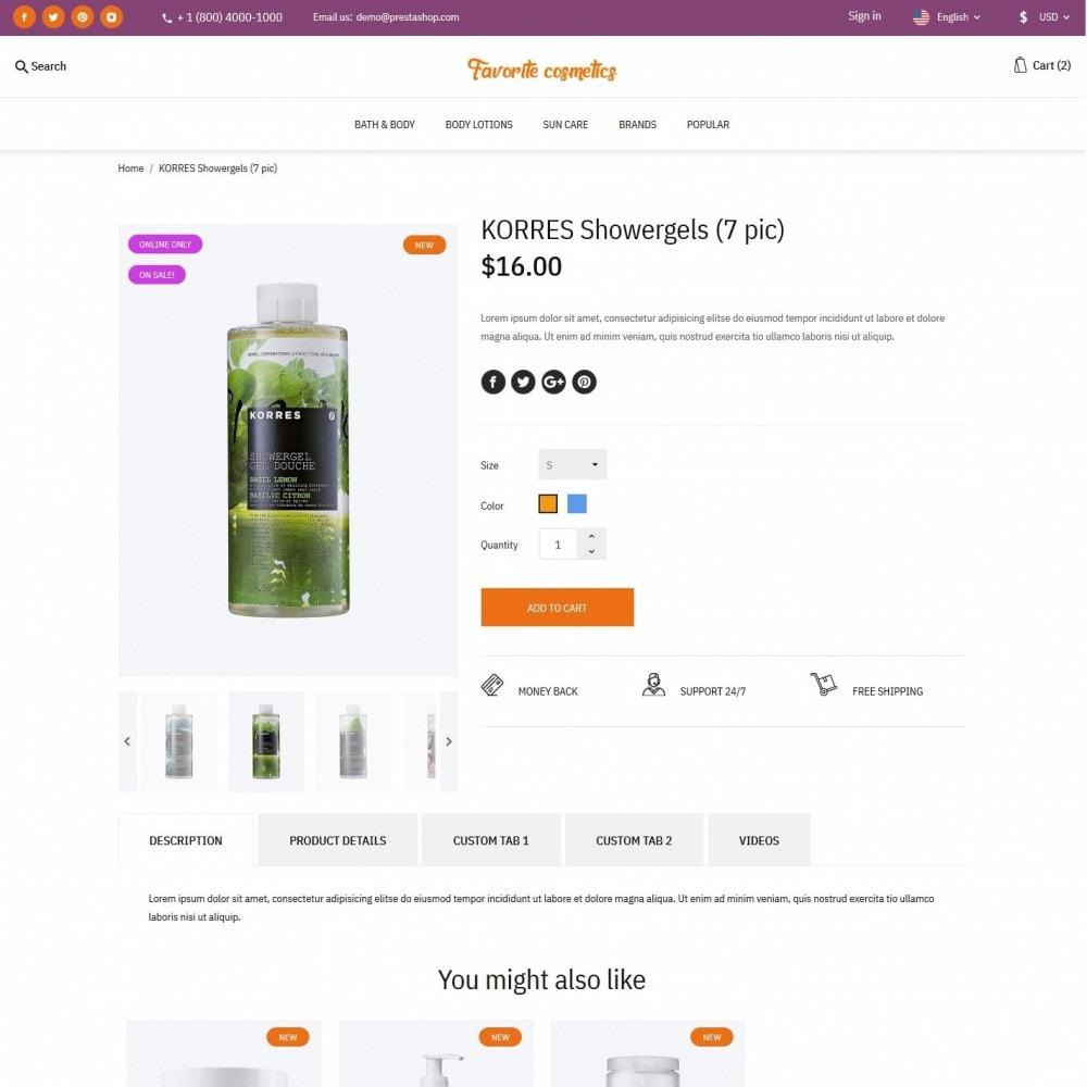 theme - Health & Beauty - Favorite cosmetics - 5