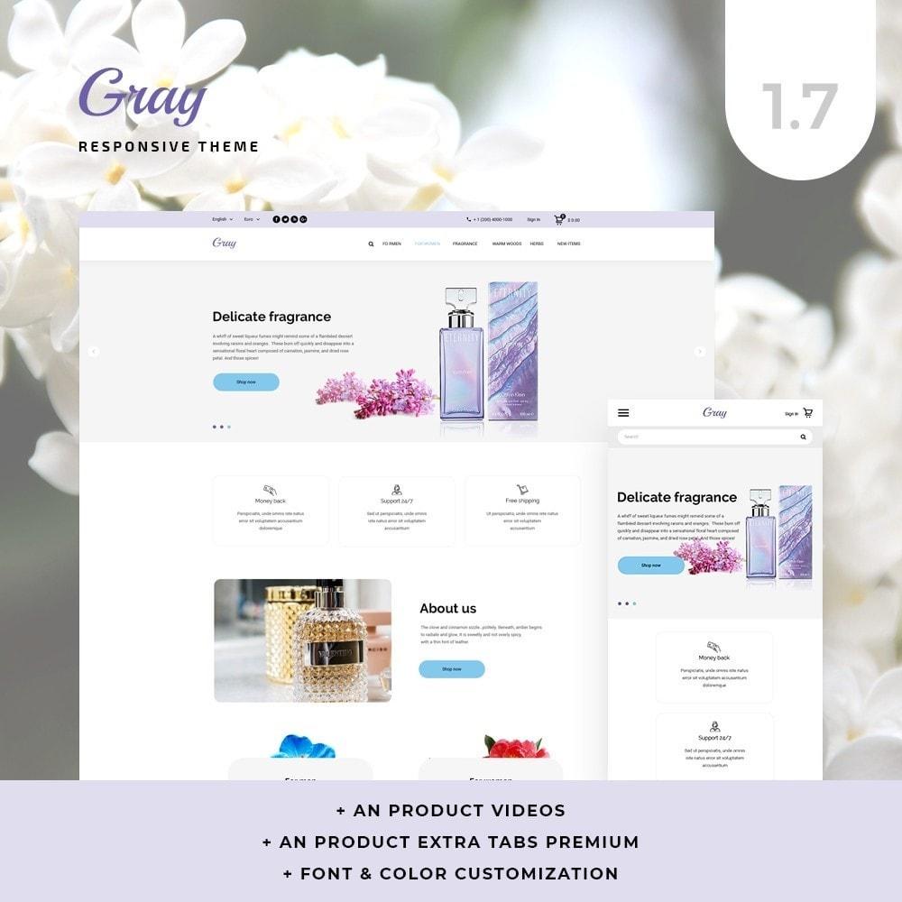 theme - Health & Beauty - Gray Cosmetics - 1