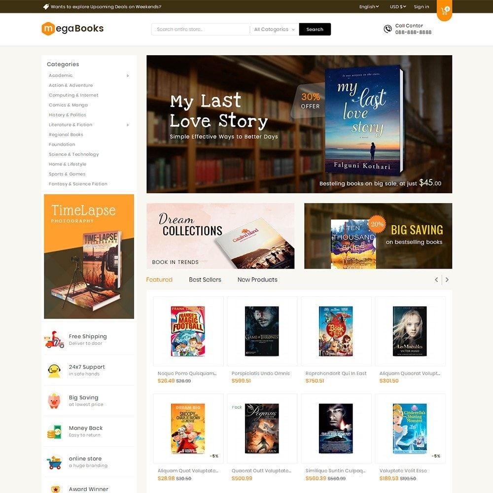 theme - Kinderen & Speelgoed - Mega Books Store - 2