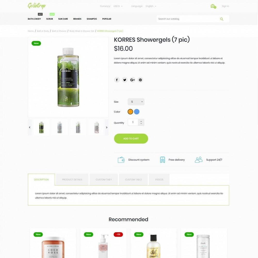 theme - Health & Beauty - Geliotrop Cosmetics - 6
