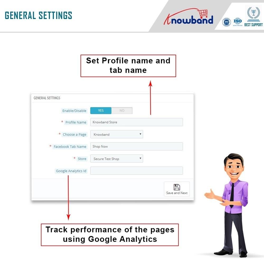 module - Prodotti sui Facebook & Social Network - Knowband - Social Shop Integrator - 5
