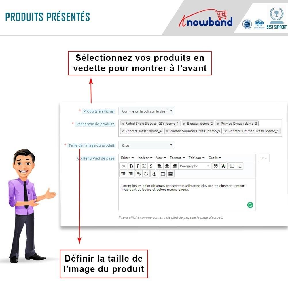 module - Produits sur Facebook & réseaux sociaux - Knowband - Intégrateur de boutique sociale - 8