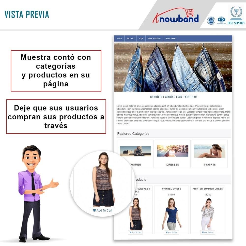 module - Productos en Facebook & redes sociales - Integrador de tienda social - 1