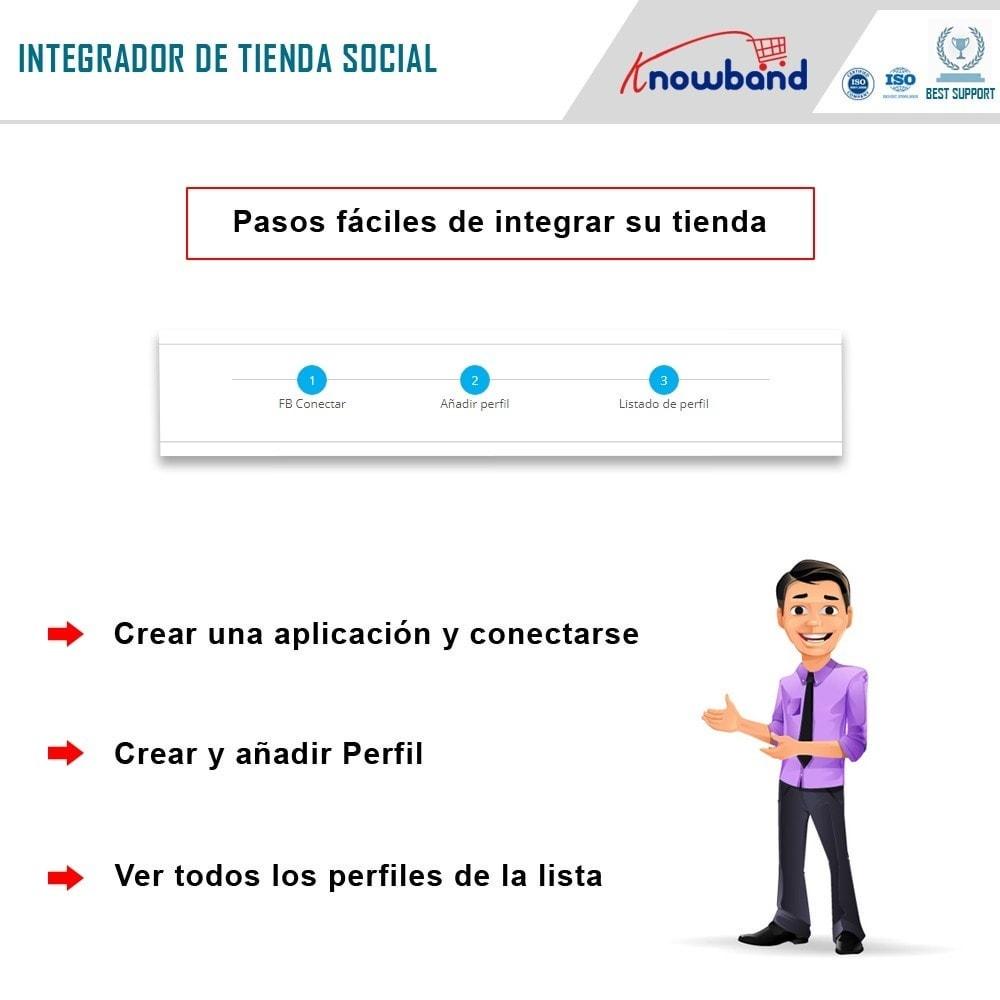 module - Productos en Facebook & redes sociales - Integrador de tienda social - 4