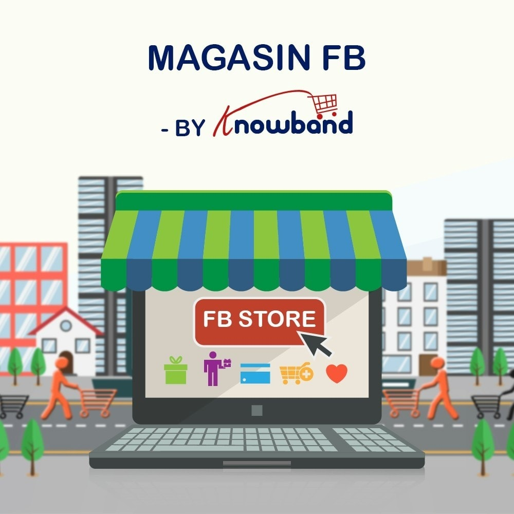 module - Produits sur Facebook & réseaux sociaux - Intégrateur de boutique sociale - 10